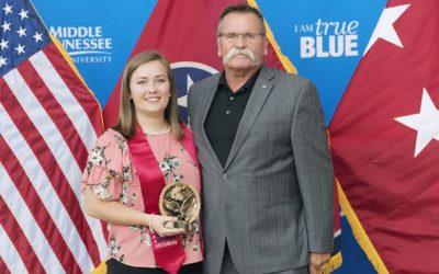 Special awards highlight MTSU  Graduating Veterans Stole Ceremony