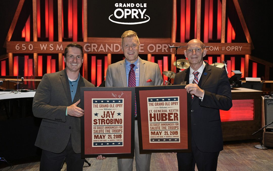 Soldiers sing praises of MTSU's Daniels Center at Opry event